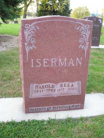 ISERMAN, HAROLD - Bremer County, Iowa   HAROLD ISERMAN
