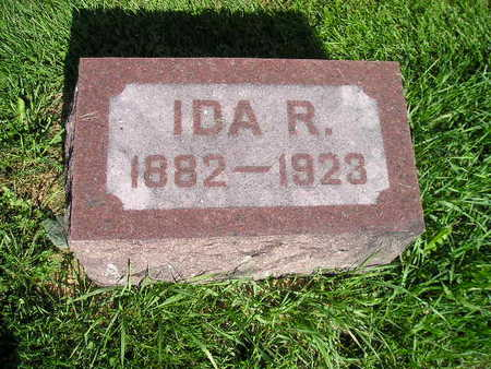 ISERMAN, IDA R - Bremer County, Iowa | IDA R ISERMAN