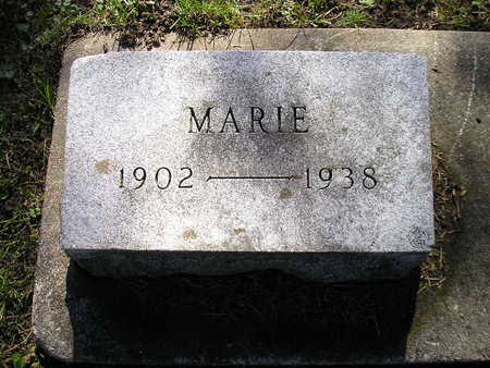 ISERMAN, MARIE - Bremer County, Iowa | MARIE ISERMAN