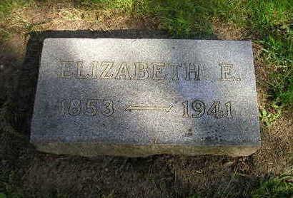 JACKSON, ELIZABETH E - Bremer County, Iowa | ELIZABETH E JACKSON