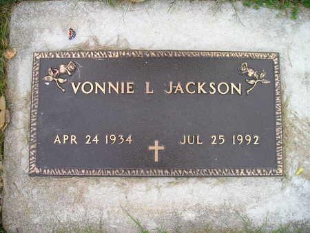 JACKSON, VONNIE L - Bremer County, Iowa | VONNIE L JACKSON