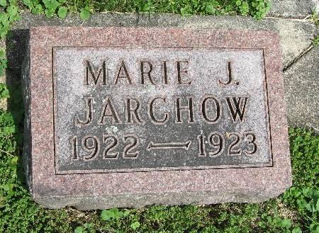 JARCHOW, MARIE J. - Bremer County, Iowa | MARIE J. JARCHOW