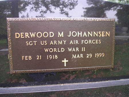 JOHANNSEN, DERWOOD M - Bremer County, Iowa   DERWOOD M JOHANNSEN