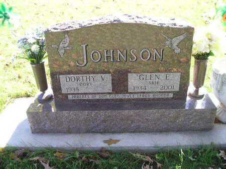 JOHNSON, GLEN E - Bremer County, Iowa | GLEN E JOHNSON