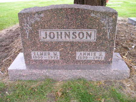 JOHNSON, ANNIE E - Bremer County, Iowa | ANNIE E JOHNSON
