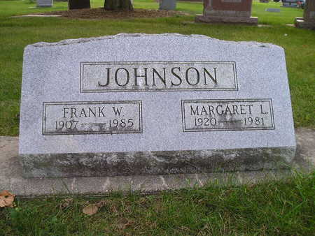 JOHNSON, MARGARET L - Bremer County, Iowa | MARGARET L JOHNSON