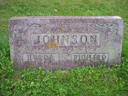 JOHNSON, HULDA - Bremer County, Iowa | HULDA JOHNSON