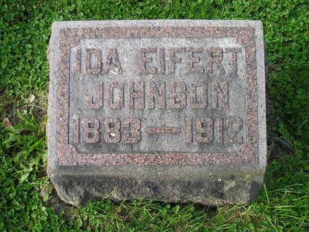 EIFERT JOHNSON, IDA - Bremer County, Iowa | IDA EIFERT JOHNSON