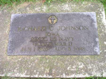 JOHNSON, RICHARD C - Bremer County, Iowa | RICHARD C JOHNSON
