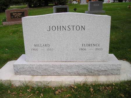 JOHNSTON, FLORENCE - Bremer County, Iowa | FLORENCE JOHNSTON