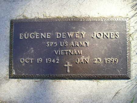 JONES, EUGENE DEWEY - Bremer County, Iowa | EUGENE DEWEY JONES