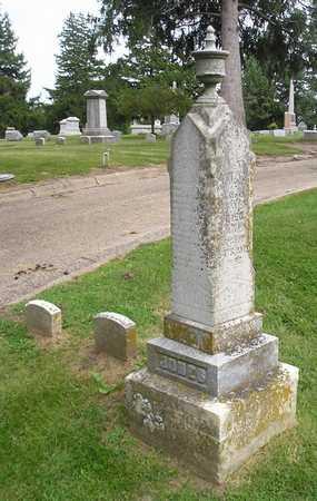 JONES, HANNAH E - Bremer County, Iowa   HANNAH E JONES