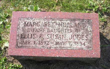 JONES, MARGARET HOLLAND - Bremer County, Iowa | MARGARET HOLLAND JONES