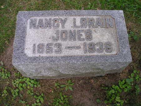 JONES, NANCY LORAIN - Bremer County, Iowa | NANCY LORAIN JONES