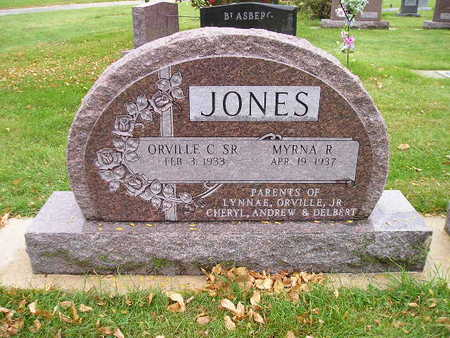 JONES, ORVILLE C SR - Bremer County, Iowa   ORVILLE C SR JONES