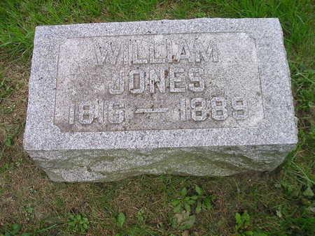 JONES, WILLIAM - Bremer County, Iowa   WILLIAM JONES