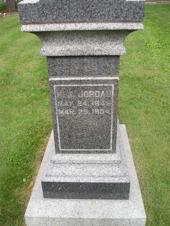 JORDAN, H. J. - Bremer County, Iowa   H. J. JORDAN