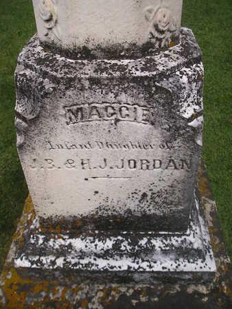 JORDAN, MAGGIE - Bremer County, Iowa   MAGGIE JORDAN