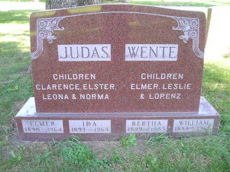 WENTE, WILLIAM - Bremer County, Iowa | WILLIAM WENTE