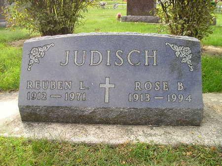 JUDISCH, ROSE B - Bremer County, Iowa | ROSE B JUDISCH