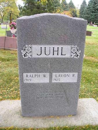 JUHL, RALPH W - Bremer County, Iowa | RALPH W JUHL