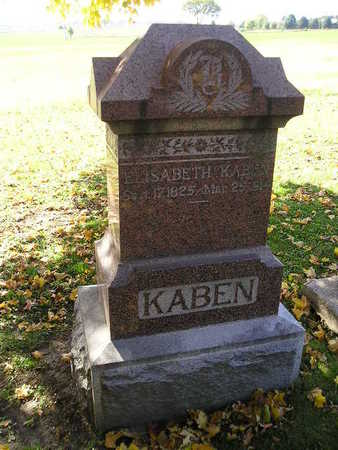 KABEN, ELISABETH - Bremer County, Iowa | ELISABETH KABEN