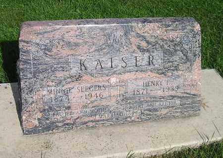 KAISER, MINNIE - Bremer County, Iowa | MINNIE KAISER