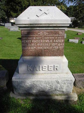 KAISER, HENRY - Bremer County, Iowa   HENRY KAISER
