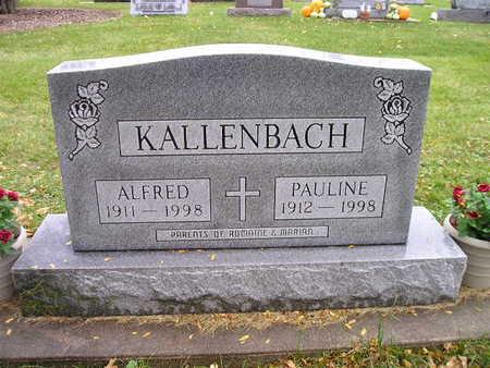 KALLENBACH, PAULINE - Bremer County, Iowa | PAULINE KALLENBACH