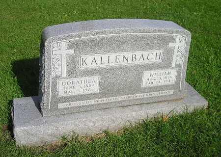 KALLENBACH, DORATHEA - Bremer County, Iowa | DORATHEA KALLENBACH