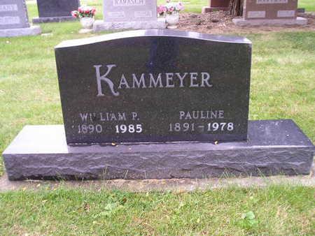 KAMMEYER, WILLIAM P - Bremer County, Iowa | WILLIAM P KAMMEYER