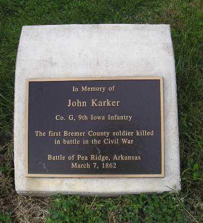 KARKER, JOHN - Bremer County, Iowa | JOHN KARKER