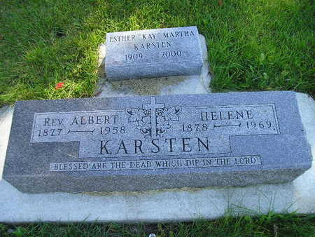 KARSTEN, ALBERT - Bremer County, Iowa | ALBERT KARSTEN