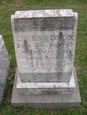 KASBCHM, J FRIEDEBICH - Bremer County, Iowa | J FRIEDEBICH KASBCHM