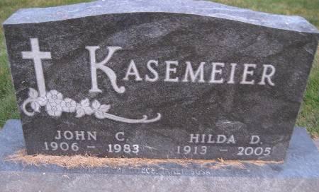 KASEMEIER, JOHN C - Bremer County, Iowa   JOHN C KASEMEIER