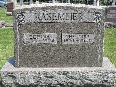 KASEMEIER, THEODORE - Bremer County, Iowa | THEODORE KASEMEIER