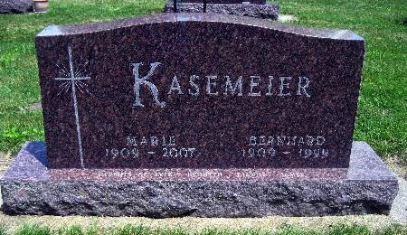 KASEMEIER, BERNHARD - Bremer County, Iowa | BERNHARD KASEMEIER