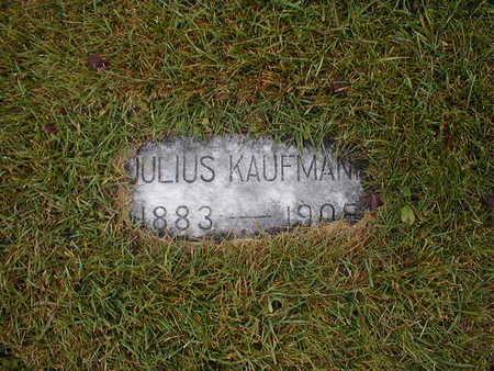 KAUFMAN, JULIUS - Bremer County, Iowa   JULIUS KAUFMAN