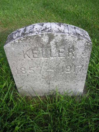 KELLER, MINNIE - Bremer County, Iowa   MINNIE KELLER