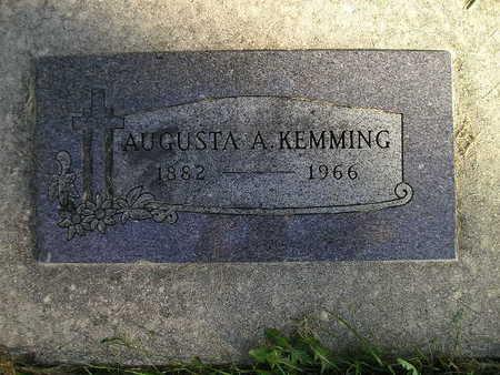 KEMMING, AUGUSTA A - Bremer County, Iowa | AUGUSTA A KEMMING