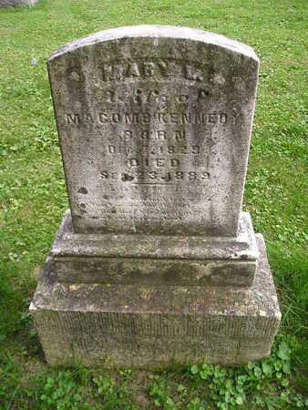 KENNEDY, MARY L - Bremer County, Iowa | MARY L KENNEDY