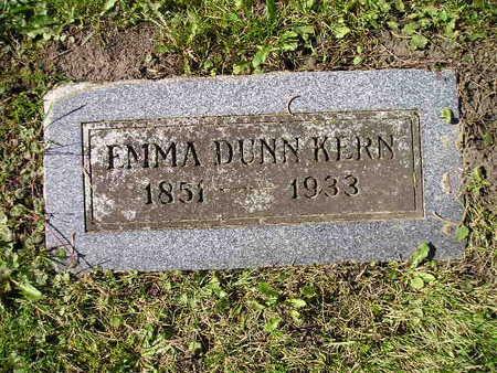 KERN, EMMA - Bremer County, Iowa | EMMA KERN
