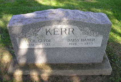 KERR, CECIL CLYDE - Bremer County, Iowa | CECIL CLYDE KERR