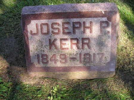 KERR, JOSEPH P - Bremer County, Iowa | JOSEPH P KERR
