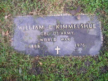 KIMMELSHUE, WILLIAM E - Bremer County, Iowa | WILLIAM E KIMMELSHUE