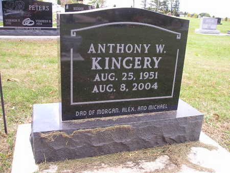 KINGERY, ANTHONY W - Bremer County, Iowa | ANTHONY W KINGERY