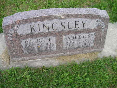 KINGSLEY, HAROLD E - Bremer County, Iowa | HAROLD E KINGSLEY