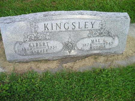 KINGSLEY, NAE L - Bremer County, Iowa | NAE L KINGSLEY
