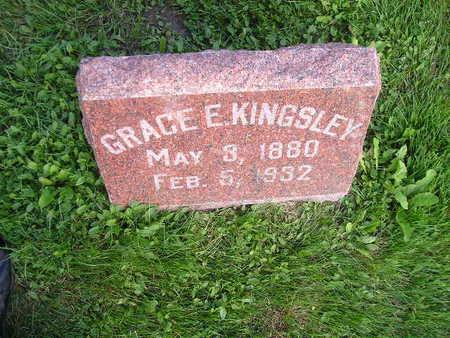 KINGSLEY, GRACE E - Bremer County, Iowa | GRACE E KINGSLEY