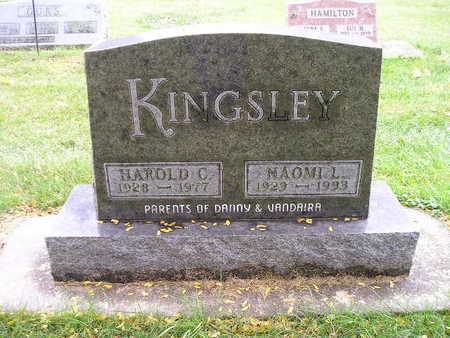 KINGSLEY, HAROLD C - Bremer County, Iowa   HAROLD C KINGSLEY